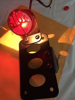 Brand new Bobber brake light an plate holder for Sale in Combine, TX