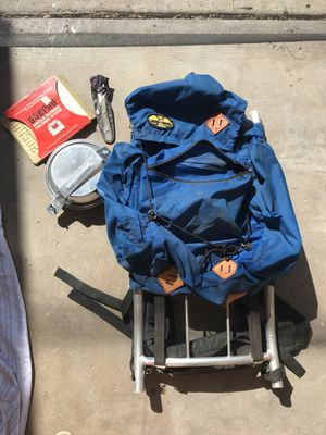 Vintage Camping Backpack for Sale in San Diego, CA