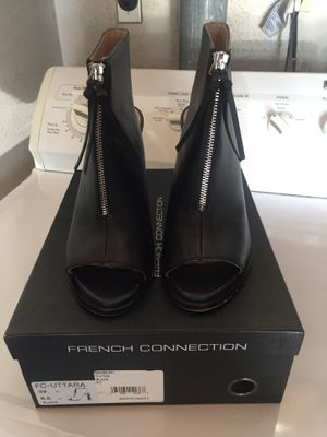 French Connection open toe boots women's size 8.5 for Sale in Irvine, CA
