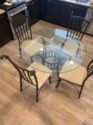 Glass kitchen table for Sale in Upland, CA