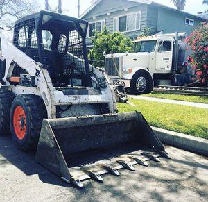 Bobcat and dump truck for Sale in Corona, CA