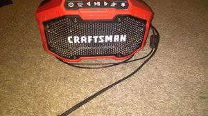 Craftsman Bluetooth speaker/20volt battery charger for Sale in Goose Creek, SC
