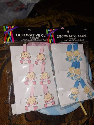Gender reveal decorations for Sale in Houston, TX