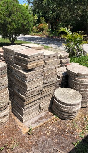 Free Garden Pavers! for Sale in Tampa, FL