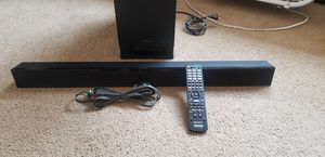 Sony Home Theatre Sound Bar 3.1 Channel HT-CT150 for Sale in Burbank, CA