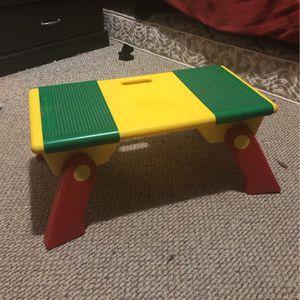 Lego Table And Storage Bin for Sale in Chesapeake, VA