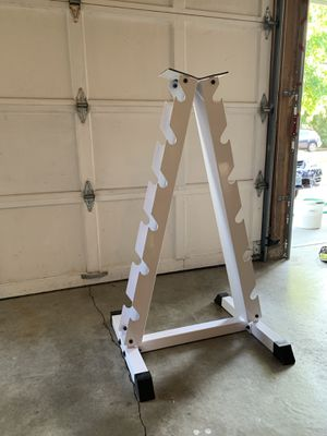 Dumbbell Tree / Free Weight Accessory Holder for Sale in Seattle, WA