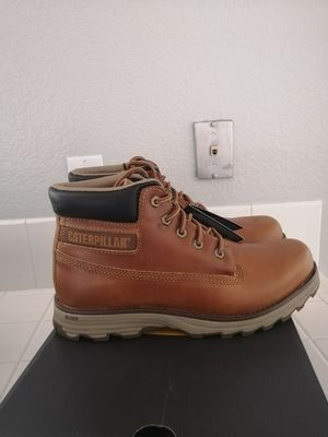 Brand new Caterpillar work boots for men. Size 10.5, 11 and 12. Soft toe for Sale in Riverside, CA