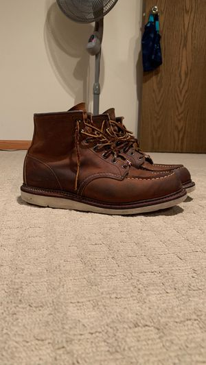 Red wing heritage moc toe for Sale in Elk Grove Village, IL