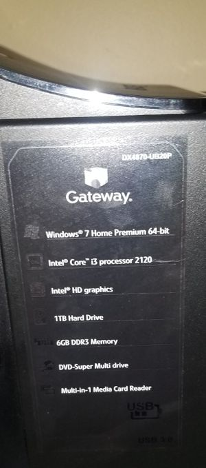 Gateway Computer Tower and Internals for Sale in Sherman, CT