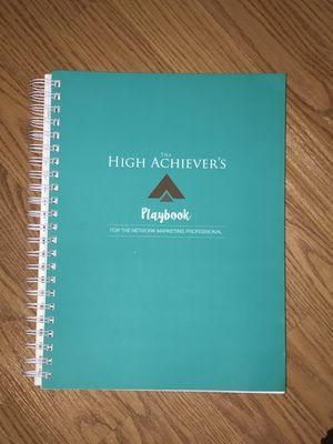 High Achievers Playbook Planner for network marketers for Sale in La Puente, CA