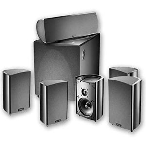 Difinitive technology subwoofer with 6 speakers for Sale in San Antonio, TX