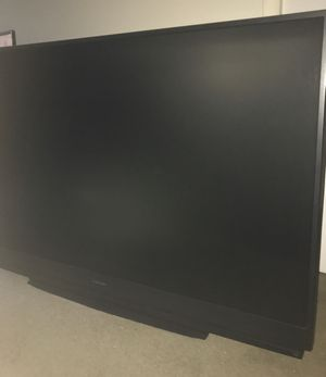"""Mitsubishi 73"""" rear projection TV, FREE, need truck/van to haul, not working for Sale in Highland Beach, FL"""