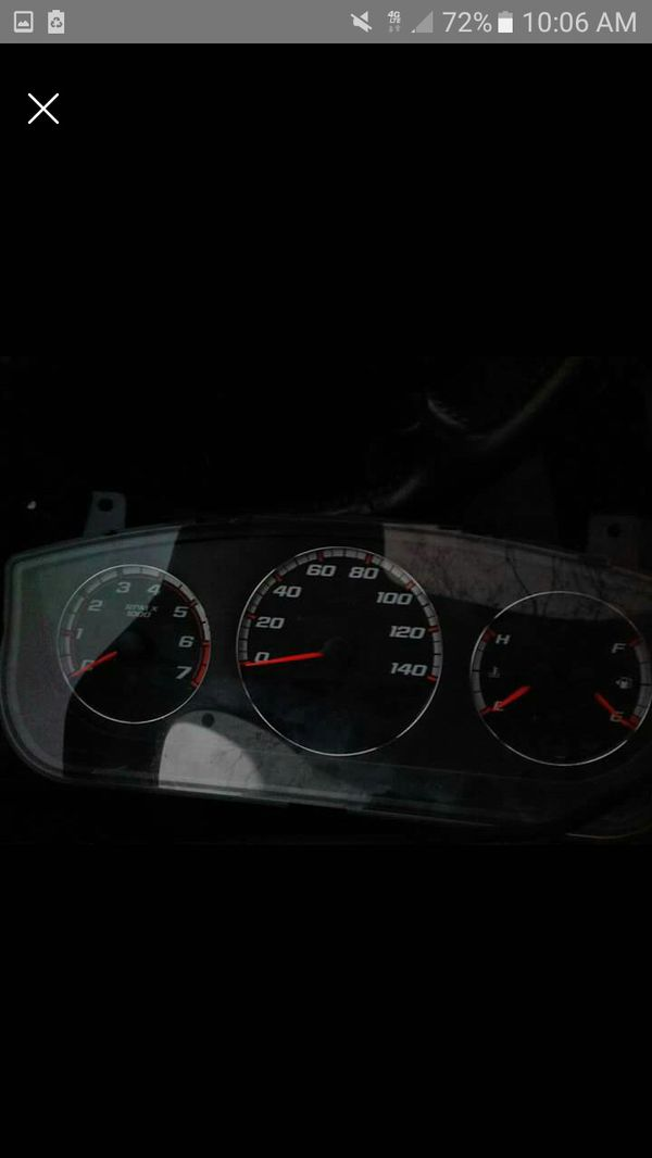 2009 impala ss speedometer instrument guage cluster tachometer dash mount