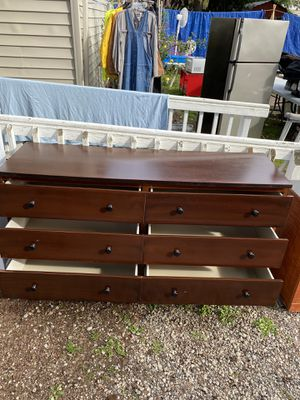 REALLY NICE WOODEN DRESSER! 59''High, 84''Wide, 24''Deep! DELIVERY AVAILABLE FOR $25 for Sale in Portland, OR