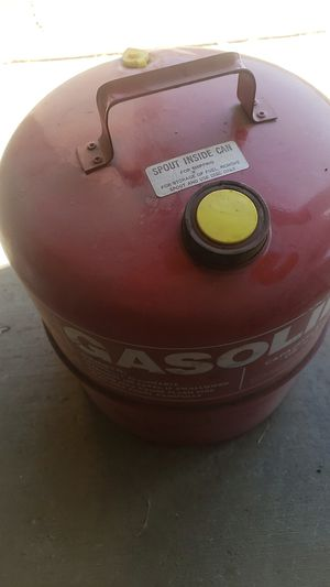 Gas storage tank for atvs boats ect for Sale in Perris, CA