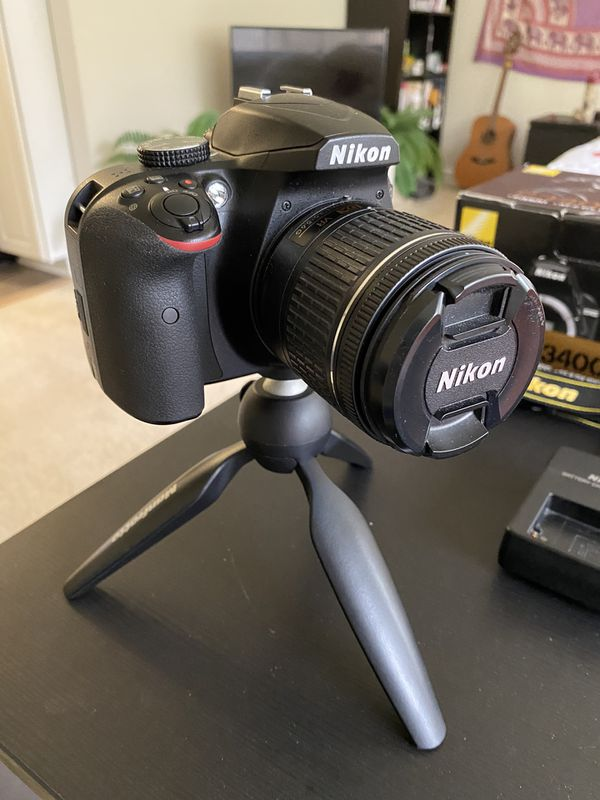 Nikon D3400 w/ 18-55mm lens
