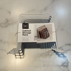 "SALT Cabinet Storage Rack, White, 10"" X 11.8"" X 7.2"" for Sale in Santa Monica,  CA"