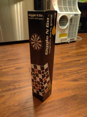 Giggle N Go Magnetic Dart Board and Megnetic checkers for Sale in Diamond Bar, CA