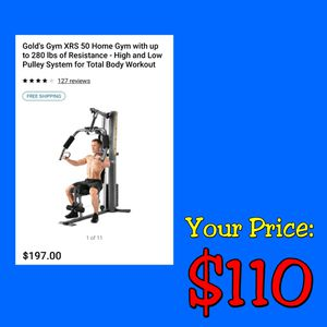 NEW Golds Gym XRS50 Home Gym: Assemble Yourself for Sale in Burlington, NJ
