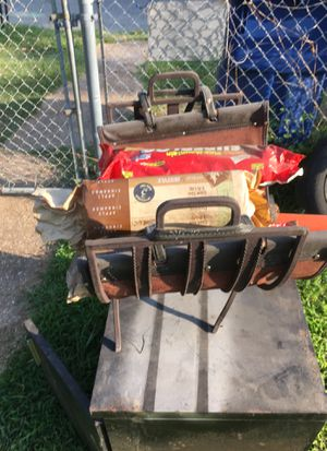 Fire wood holder with fire logs for Sale in Denison, TX