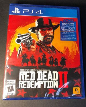 Red Dead Redemption II / 2 - PlayStation 4 / PS4 - Mint for Sale in Fort Belvoir, VA