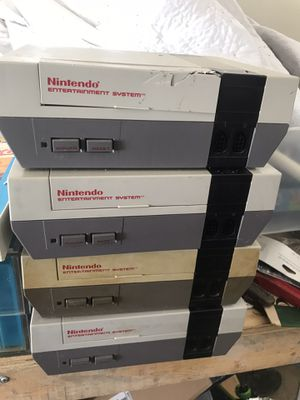 Untested Nintendo's and Super Nintendo as is for Sale in North Ridgeville, OH