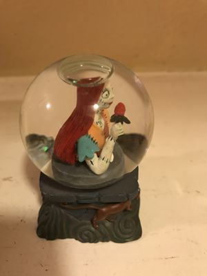 Nightmare Before Christmas snow globe (two Sally snow globes) for Sale in San Jose, CA