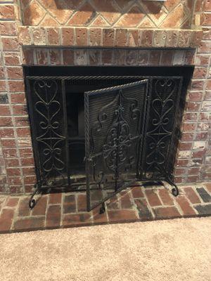 Fireplace - Operable Door Firescreen (Wrought Iron) for Sale in Renton, WA