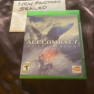 New Sealed Xbox One Ace Combat 7 Skies Unknown for Sale in San Diego, CA