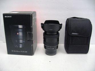 Sony FE 16-35mm f/2.8 GM Full Frame E-Mount Lens SEL1635GM for Sale in Los Angeles,  CA