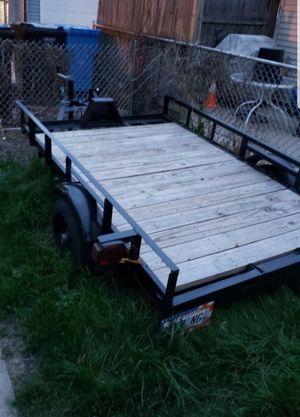 5x8 utility trailer for Sale in Chicago, IL