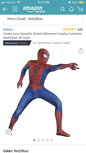 Spiderman Costume (Small) for Sale in Silver Spring, MD