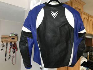 Frank Thomas Leathers Motorcycle Jacket Size UK 44 for Sale in Corona, CA