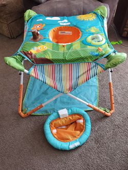 Portable bouncer with canopy for Sale in Kingsley,  MI