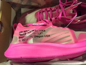 Nike Off White Zoom flies for Sale in Washington, DC