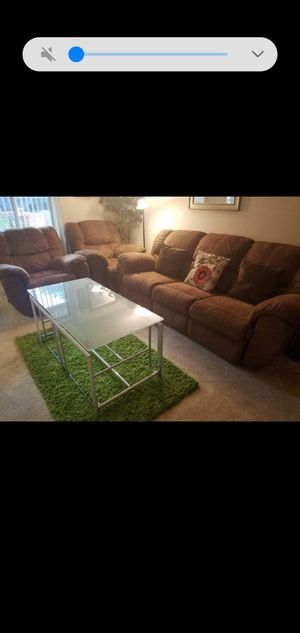 2 Lazy Boy & 3sitter coach (all recline) for Sale in MARTINS ADD, MD