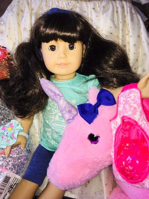 Beautiful American girl doll Samantha with lots extra for Sale in Fort Pierce, FL