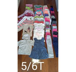 51pc 5/6T Girl's Clothes for Sale in Manassas Park, VA