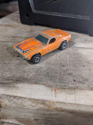 Vintage 1970 Mattel Hot Wheels Dixie Challenger 426 Hemi Orange for Sale in Whittier, CA