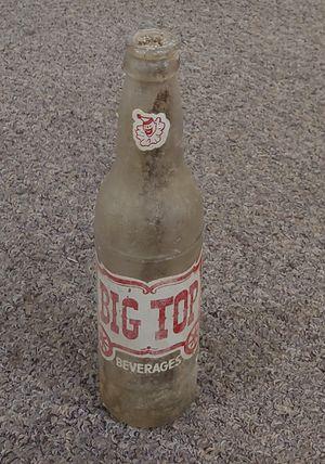 Antique Big Top Bottle for Sale in Burlington, NC