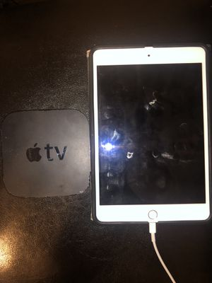 iPad Mini 4 with Apple TV for Sale in Dallas, TX