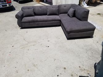 NEW 9X7FT ANNAPOLIS GRANITE FABRIC SECTIONAL COUCHES for Sale in Los Angeles,  CA