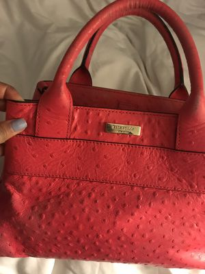 Kate spade charm city ostrich provence purse for Sale in Chicago, IL