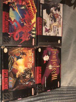 Super Nintendo Games for Sale in Auburn,  WA