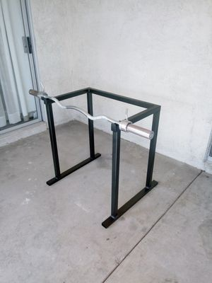 Weight Bar Rack Stand for Sale in Las Vegas, NV