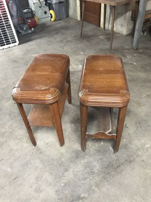 Side/end tables (2) for Sale in Everett, MA