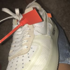 OFF WHITE air forces for Sale in Salem, OR