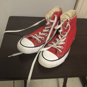 red converse for Sale in Bartow, FL