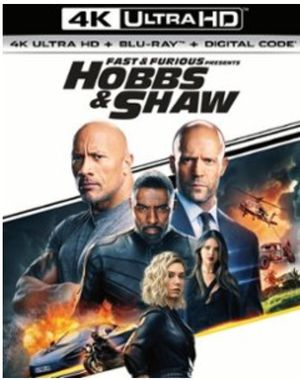 Hobbs and Shaw 4K Digital Code for Sale in Fall River, MA